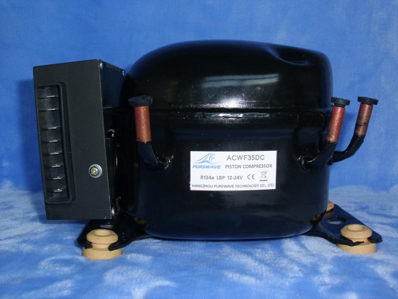 Mini DC Compressor, R134A, LBP, 12-24V (ACWF35DC)