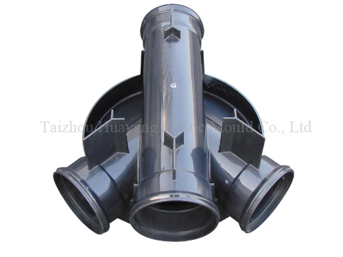 Four Way Pipe Fitting Mould