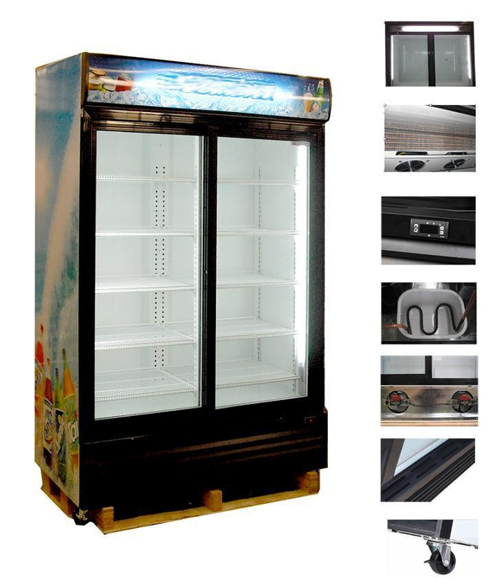 Double Door Refrigerator Double Door Fridge Display