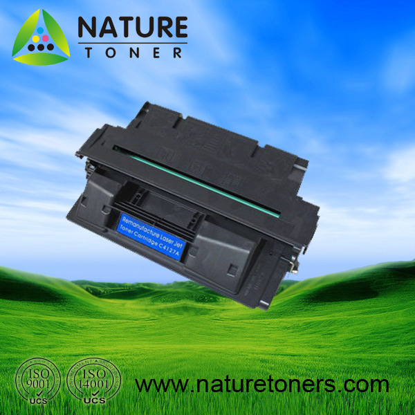 Remanufactured Black Toner Cartridge for HP C4127A
