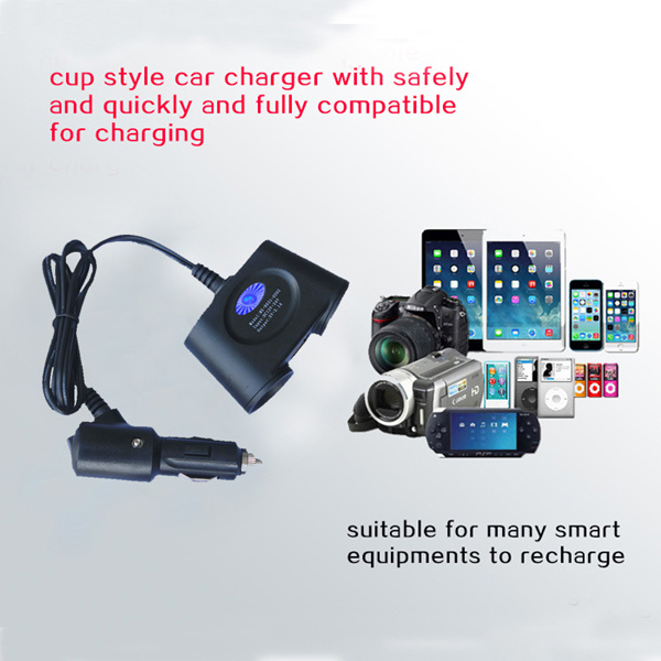 2016 New 2 Port USB Car Power Charger for Mobiles