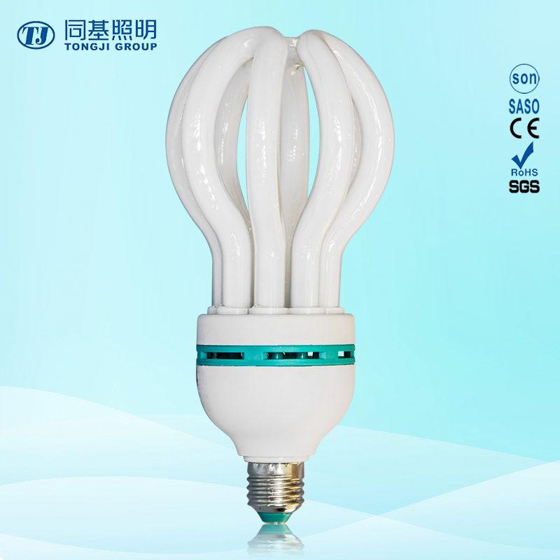 Energy Saving Lamp 85W Lotus Halogen/Mixed/Tri-Color 2700k-7500k E27/B22 220-240V