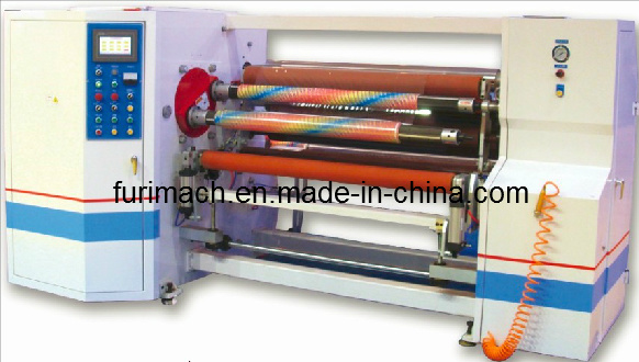 Aluminium Foil/Aluminium Coating, BOPP/OPP/PVC/PE Double Shaft Auto Rewinding Machine