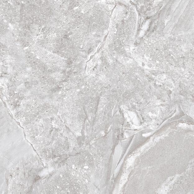 Beige Grey Full Polished Glazed Floor Tile with 600X600mm