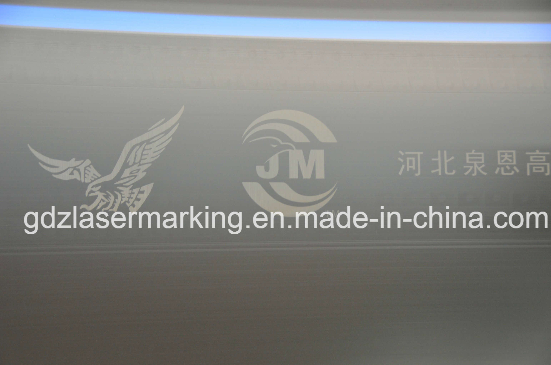 20W 30W 50W Ipg Fiber Laser Marking Machine for Pipe, /PVC/HDP/PE/CPVC etc Plastic Non-Metal