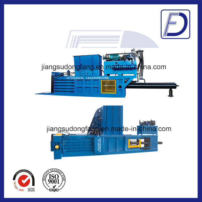 Hydraulic Plastic Bottles Closed Door Baler