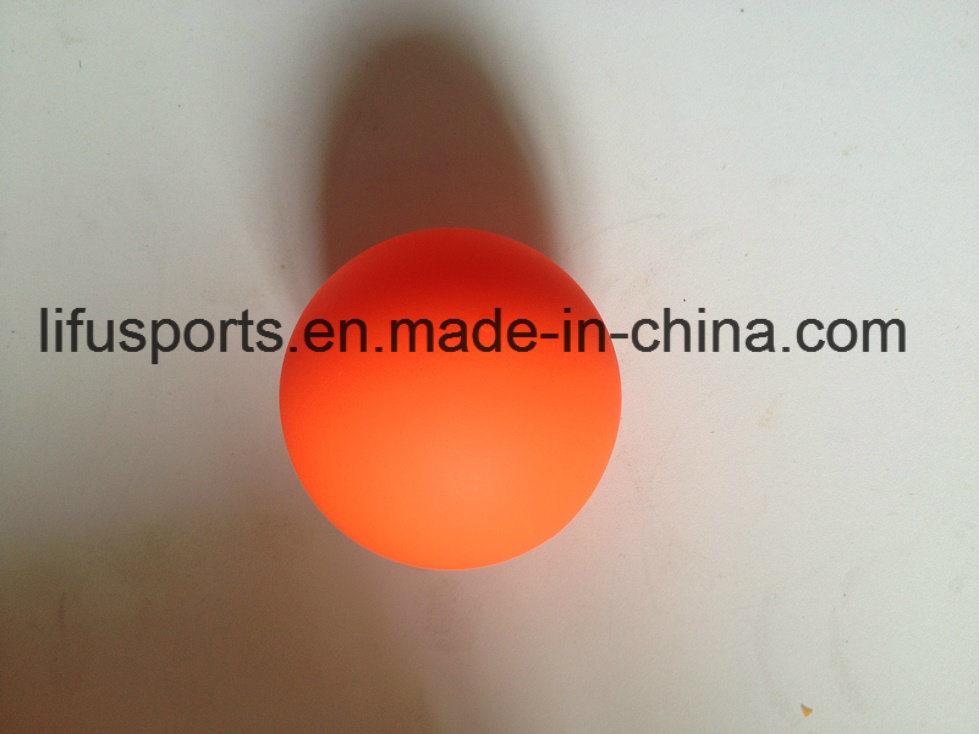 Customized New Design Multi Color Logo Printing Plastic Low Bounce Hockey Ball