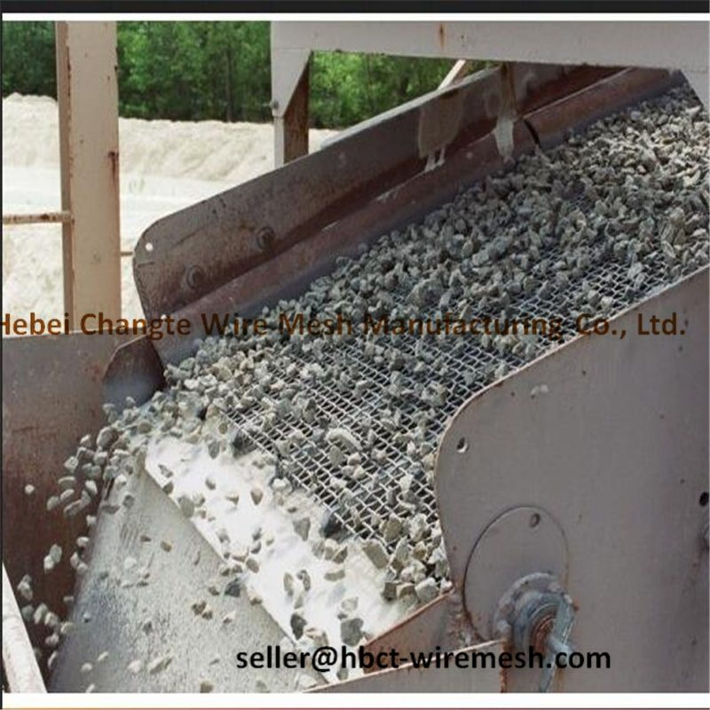 Vibrating Screening Spare Part Vibrator Sand Screen for Sand