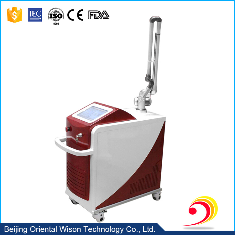 Korea Metal Arm Q-Switched ND YAG Laser Pigmentations/Tattoo Removal Beauty Machine