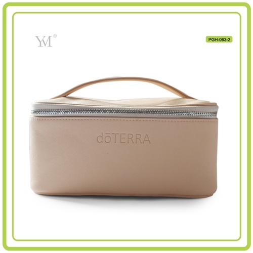 New Style Custom Printing Leather Cosmetic Makeup Lady Bag