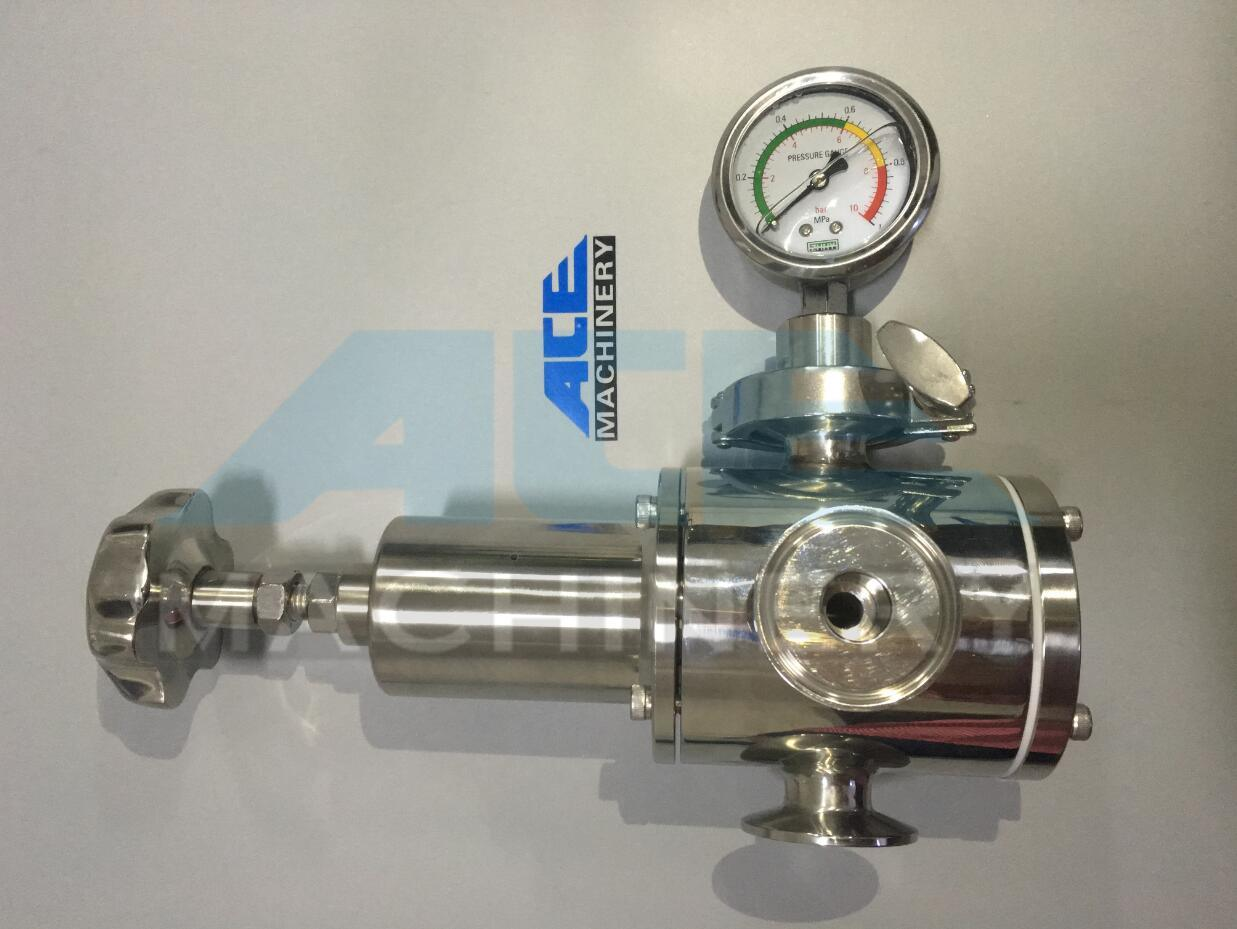 Sanitary Stainless Steel Pneumatic Safety Valve (ACE-AQF-D3)