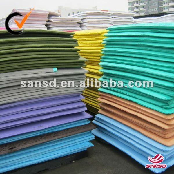 Closed Cell EVA Sponge Color Sheet EVA Foam Sheet for Packaging