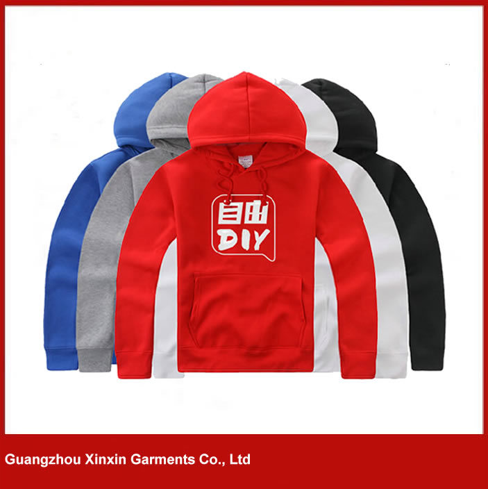 Wholesale Cheap Blank Hoodies with Your Own Logo Printed (T55)
