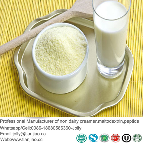 Cold-Water Soluble Non-Dairy Creamer for Full Cream Milk Powder Replacer