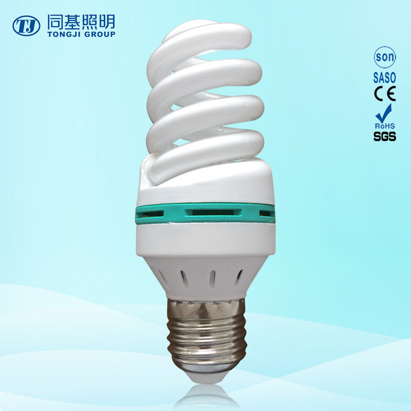 Energy Saving Lamp 15W 18W 23W Full Spiral Tri-Color E14/E27/B22 220-240V