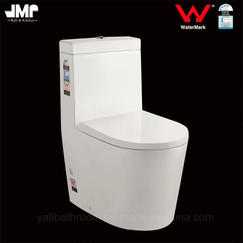 1032 Australian Standard Bathroom Sanitary Ware Washdown One Piece Ceramic Toilet
