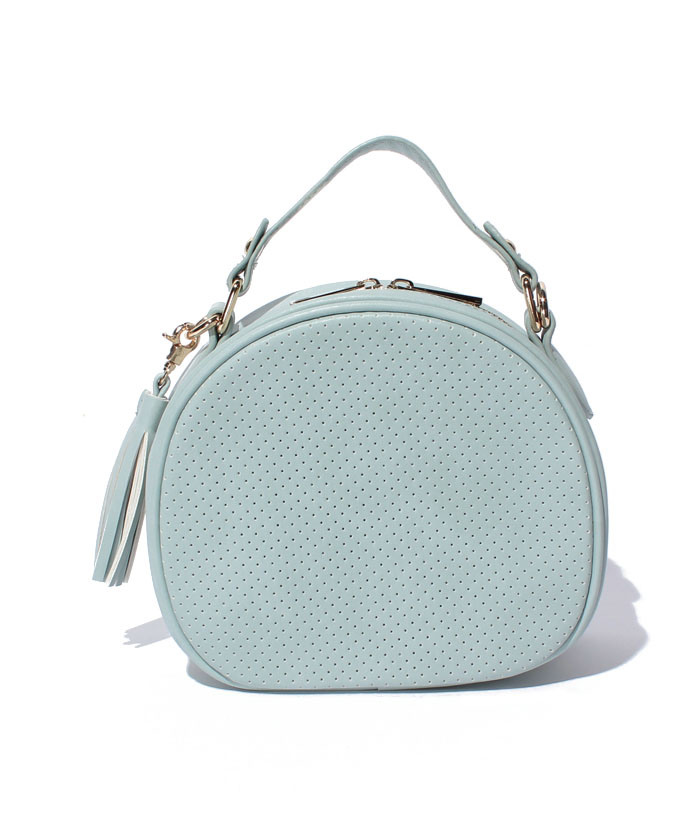 New Arrival PU Leather Bowling Bag Women Shoulder Bag (XR0827)