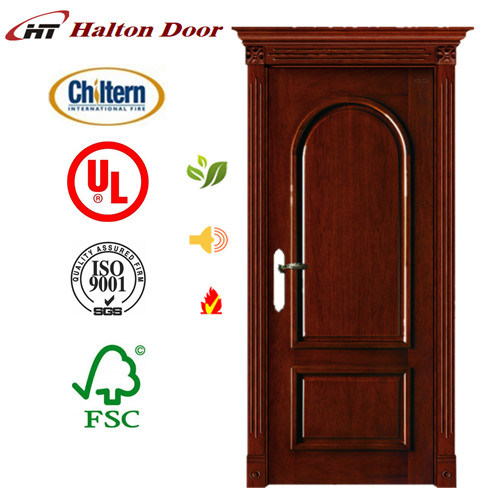 Entrance Oak Solid Wooden Door for Villa/Wood Dool/ Solid Wooden Door