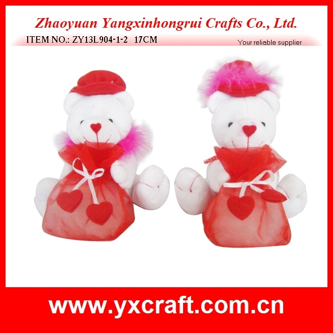 Valentine Decoration (ZY13L904-1-2) Love Bear Candy Bag