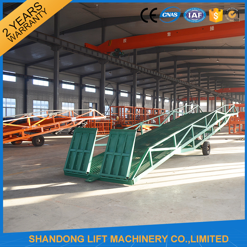 Hydraulic Loading Ramp with CE