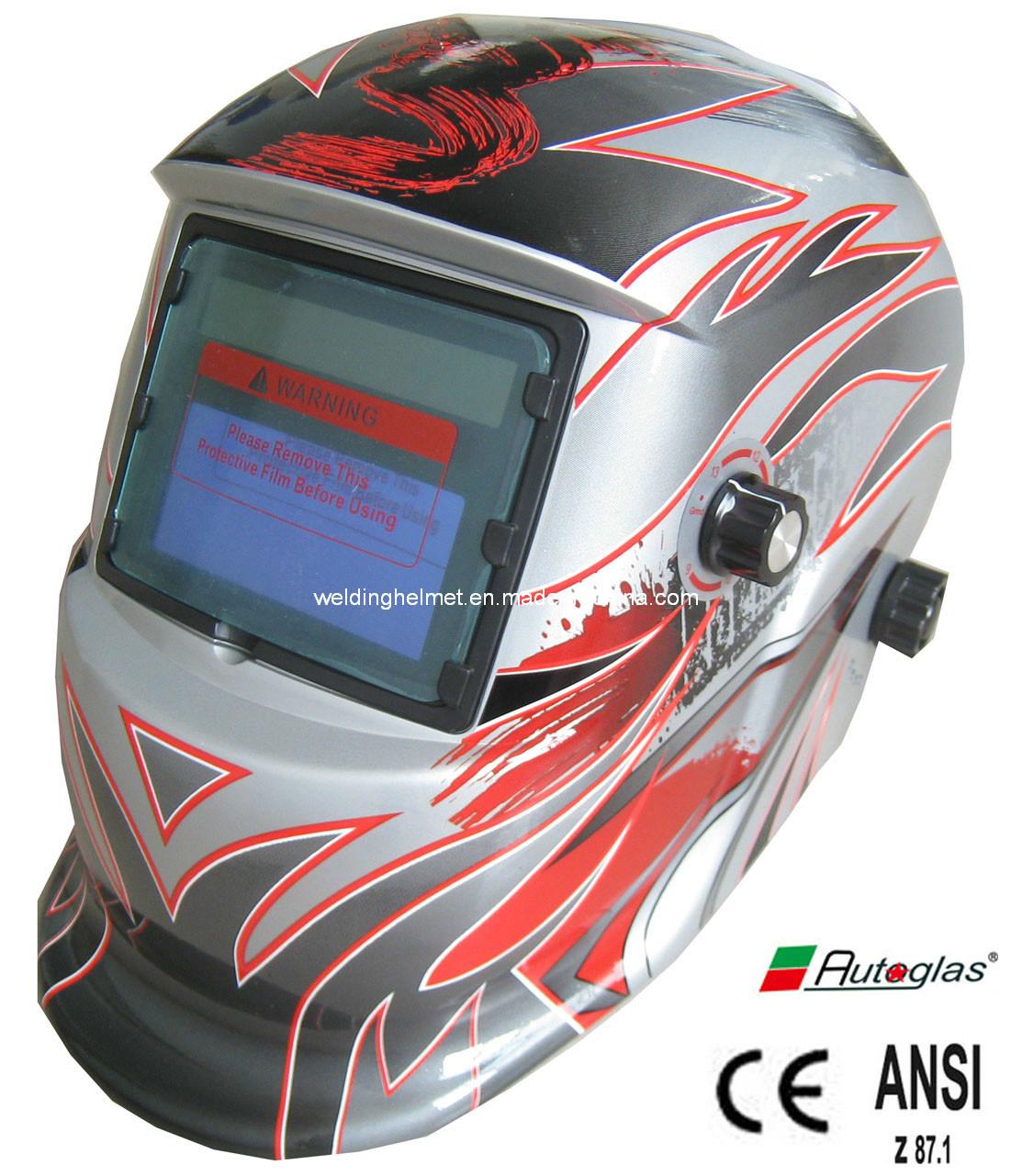 CE/ANSI, En379/9-13 Auto-Darkening Welding Helmet (E1190ST)