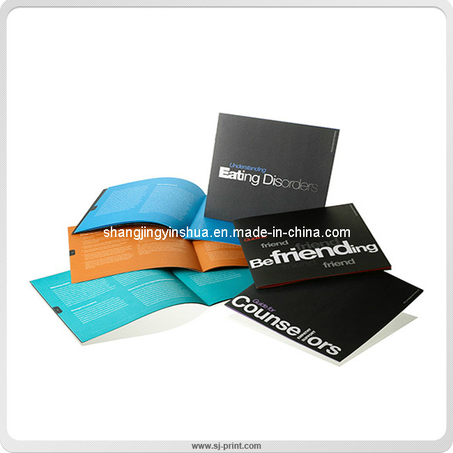 Saddle Stitching Full Colour Printing Paper Catalogs (SJ003)