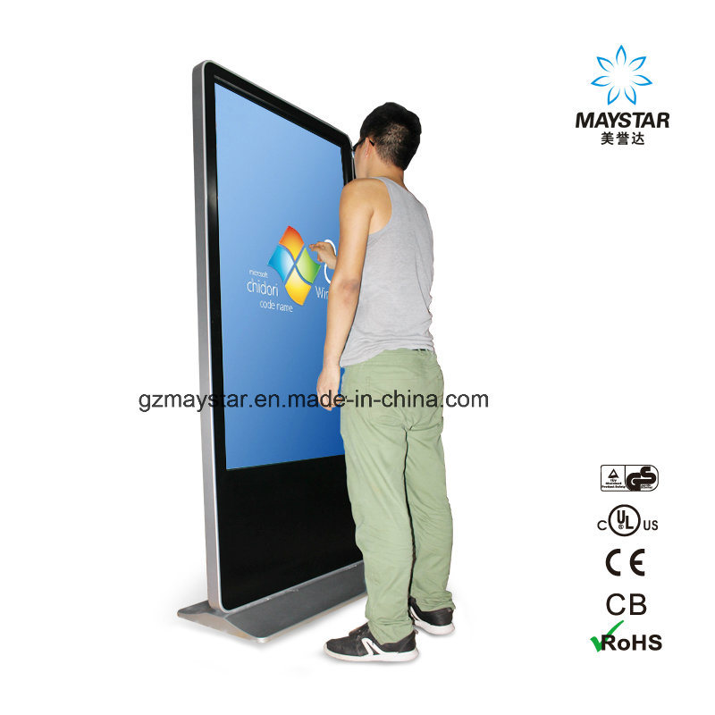 LCD Advertising Display Multitouch Interactive Photo Booth Touch Screen Kiosk