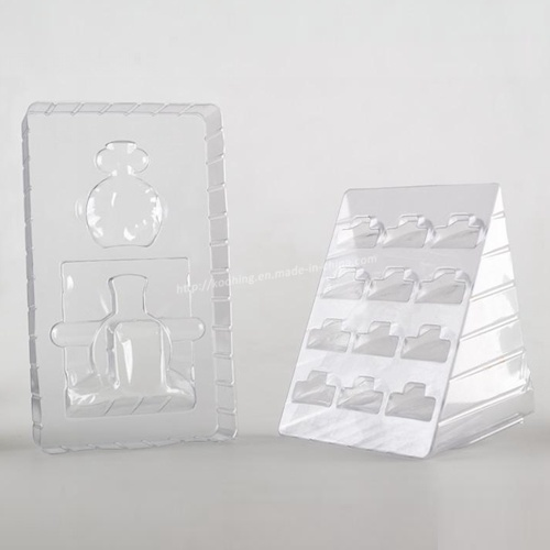 Transparent PVC Blister Packaging Clamshell/Plastic Tray