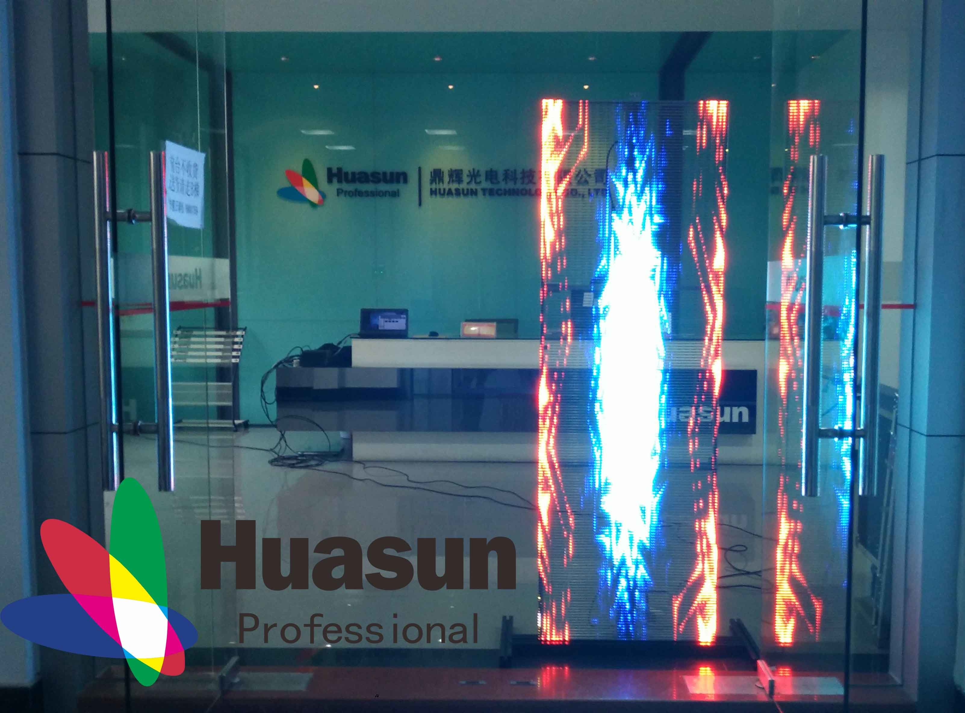 china high end transparent led video wall - china transparent led