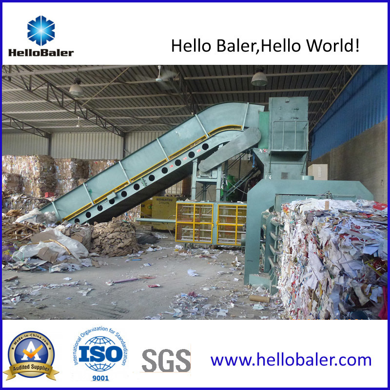 Automatic Waste Paper Baling Baler with High Quality Hfa10-14