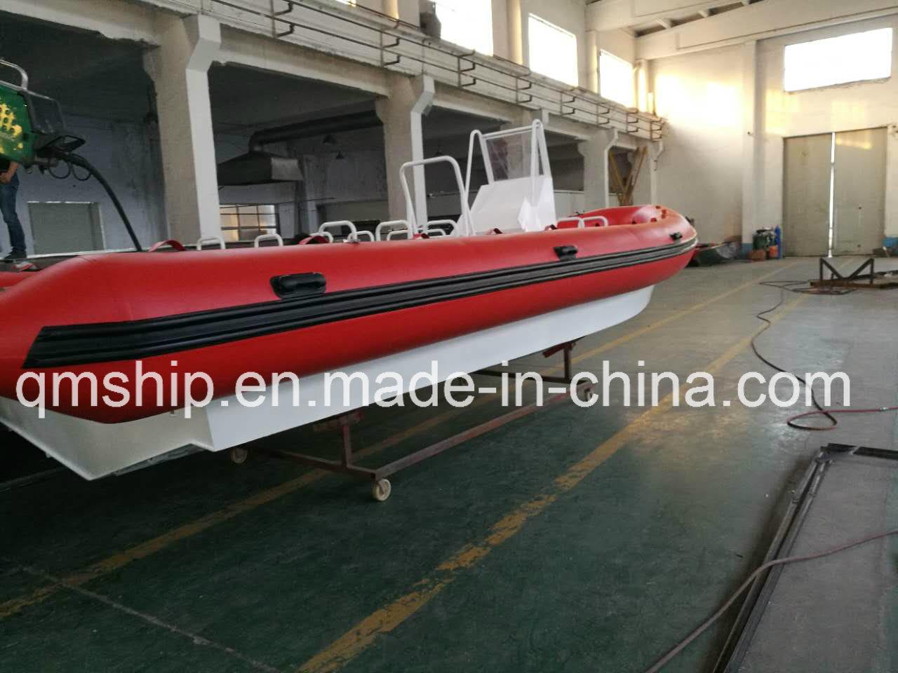 Nice Inflatable Rubber Air Bag and Aluminium Rib Boat