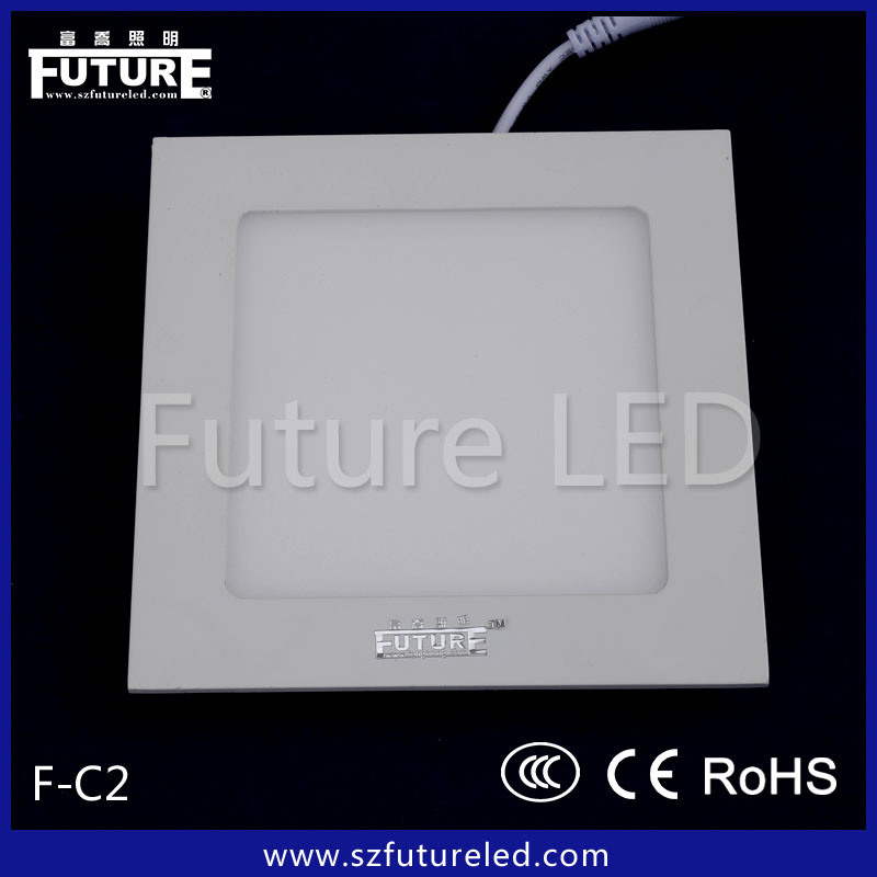 CE RoHS Approved Indoor Lighting 175*175 12W LED Ceiling Spotlight