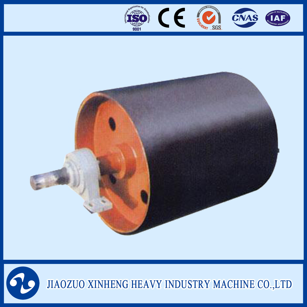 Pulley with Facing Rubber / Head Drum / Tail Drum / Driving Pulley