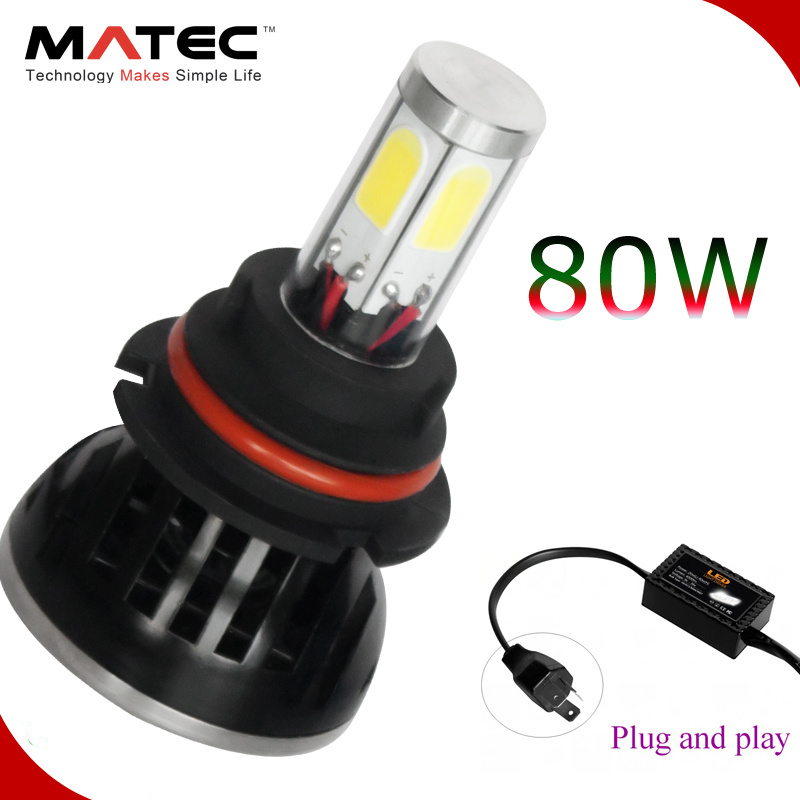 2017 New Auto High Power Car Motorcycle G5 LED Headlight Bulbs Kit H7 H1 H3 H11 H13 9007 9004 9005 9006 H4 Car Headlight LED H7