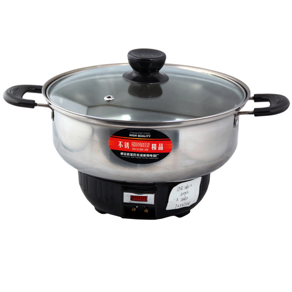Stainless Steel Electric Hot Cookware Travel Pot