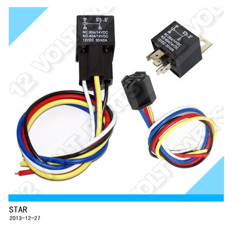 Car Relay Wire Harness