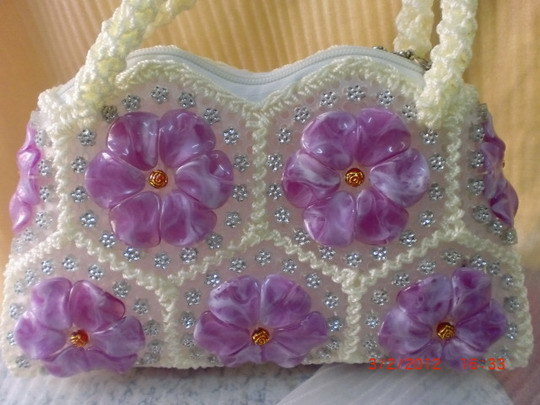 Lady Bags, Acrylic Beads Bags