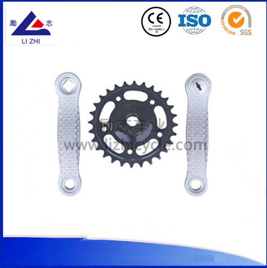 Aluminum Material Bike Parts Crank and Chainwheel