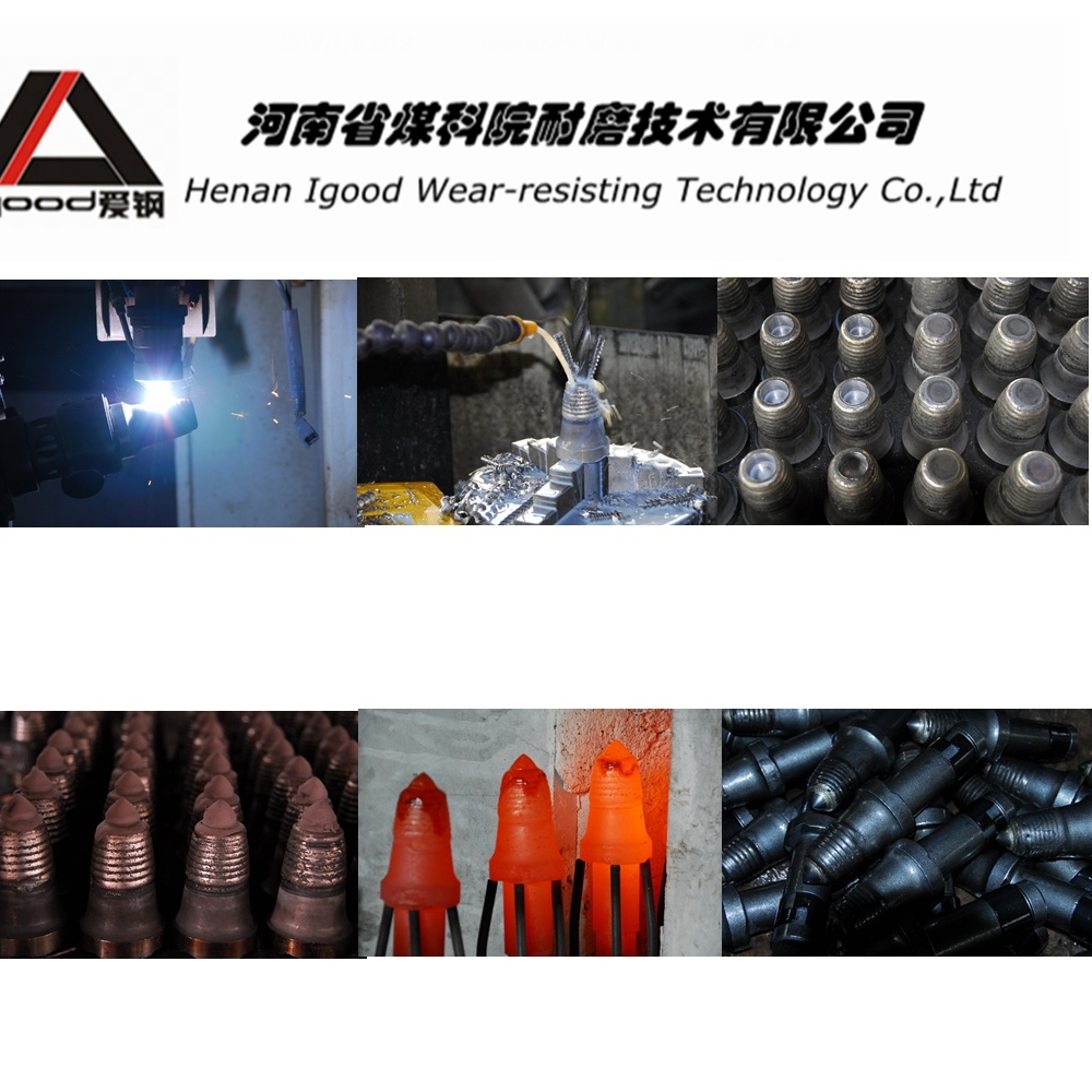 Alloy Powder Cladding Conical Picks Production