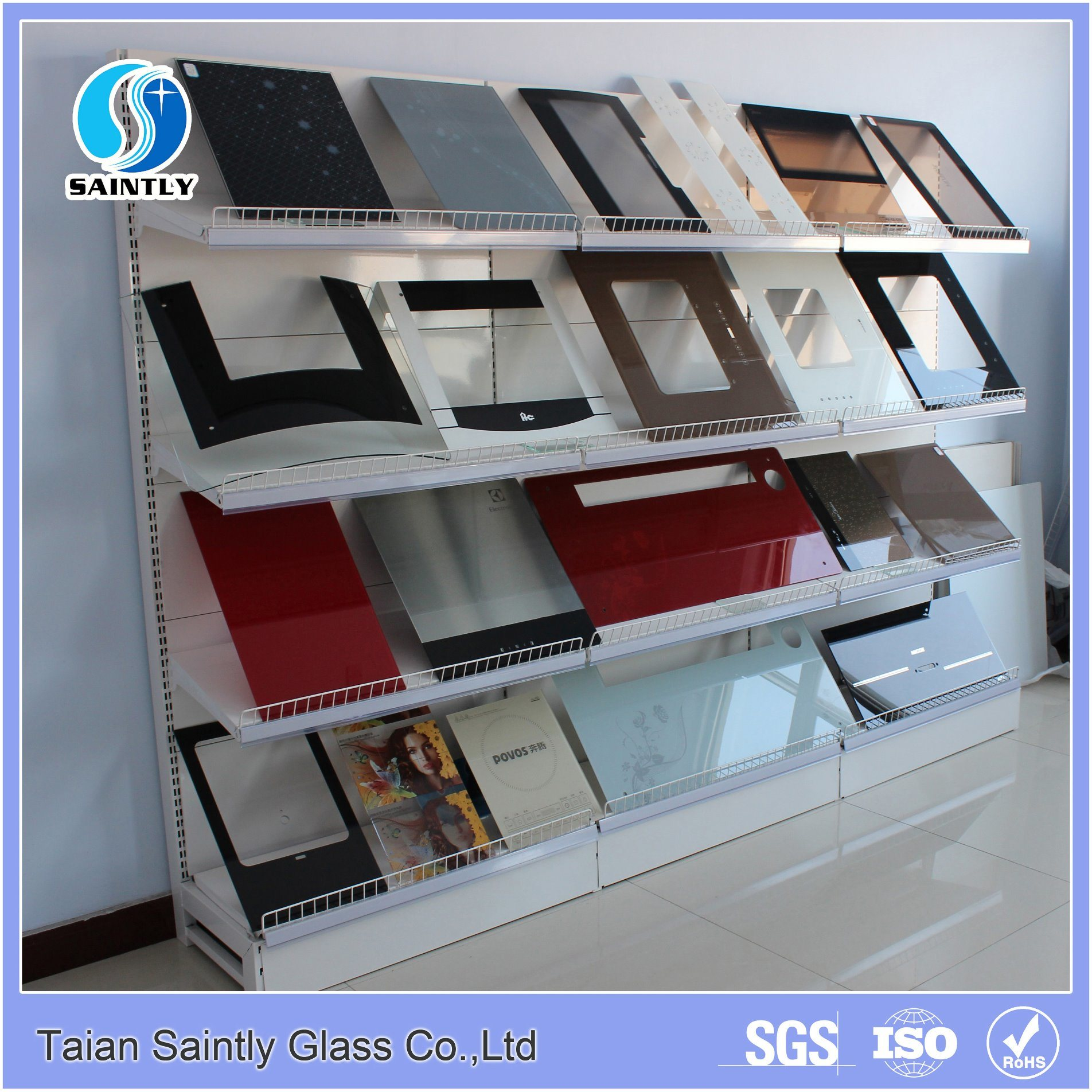 5mm Colored Painted Tempered Disinfection Cabinet Glass