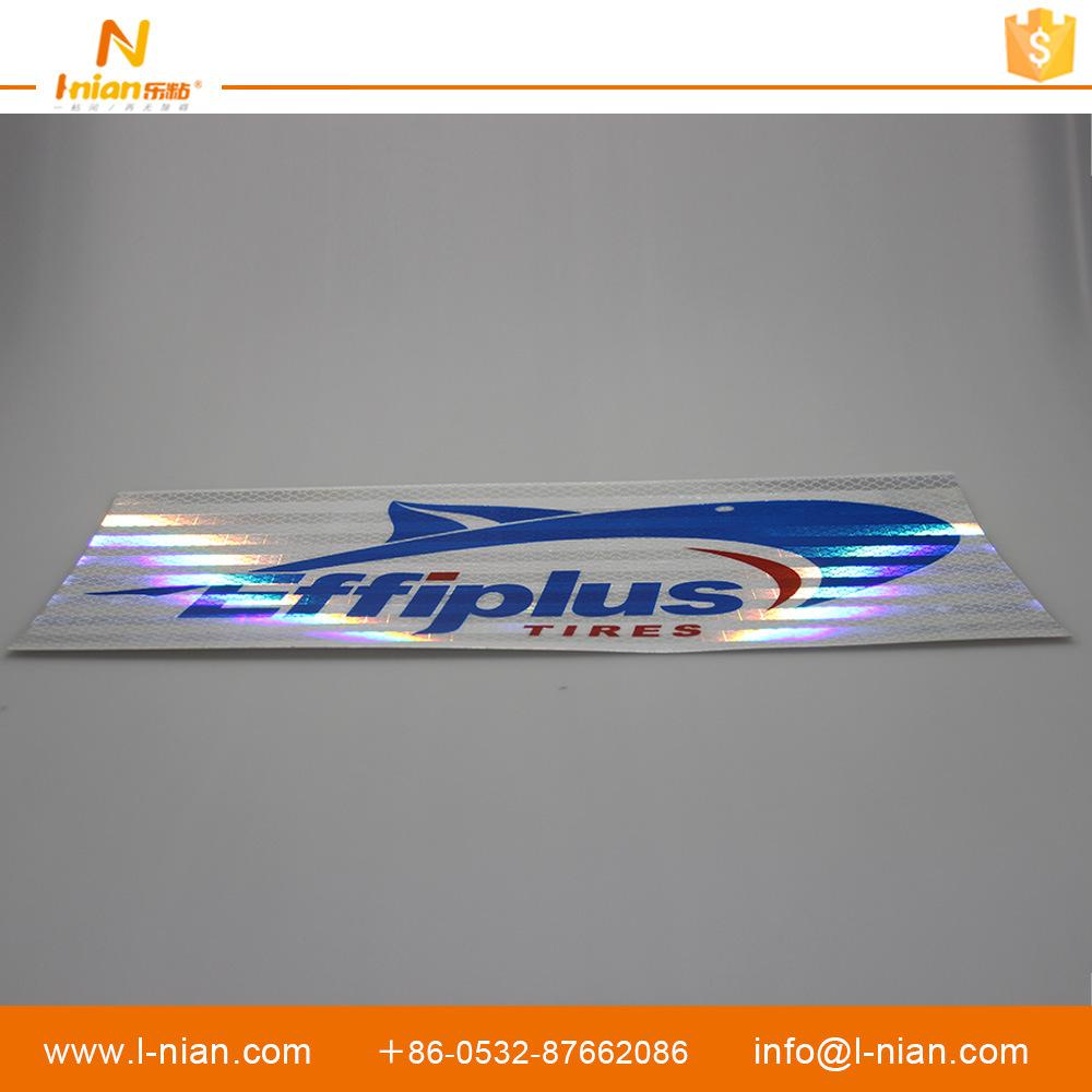 Reflective Vinyl Sticker PVC Label Tire Stickers