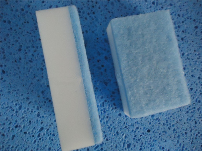Magic Sponge with Scouring Pad Cleaner China Manufacture Factory