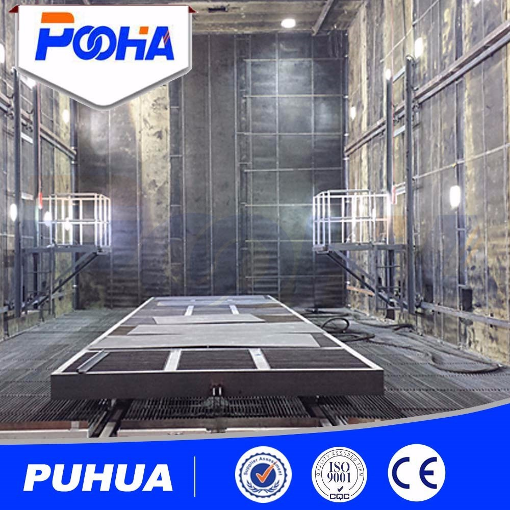 Sealed Cleaning Equipment Complex Steel Structure Sand Blasting Room Automatic Recycling Blasting Machine