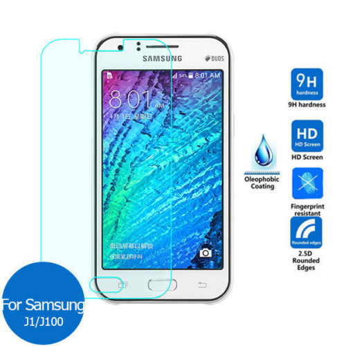 Tempered Glass Screen Guard Cover Film Screen Protector for Samsung Galaxy J1