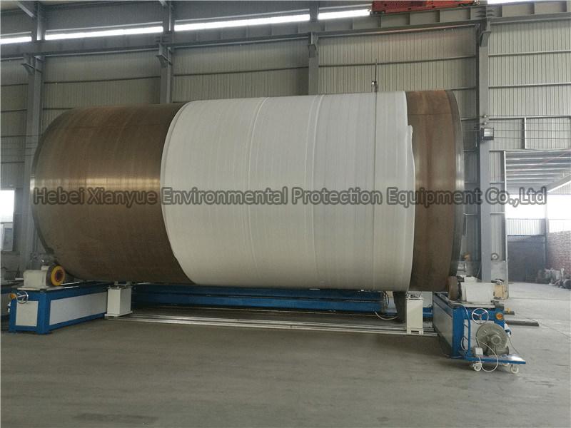 Plastic PE HDPE Krah Pipe Making Machine