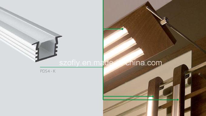 Recessed Aluminum Profile for LED Flexible Lighting