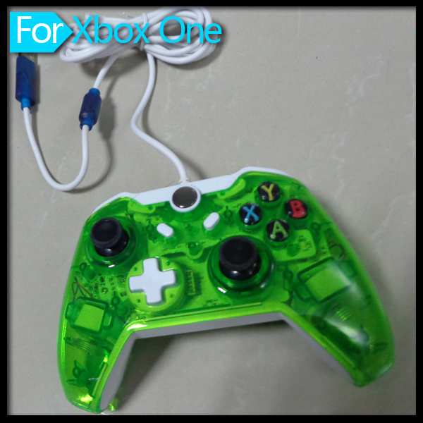 Wired Transparent Joystick for xBox One Console Controller