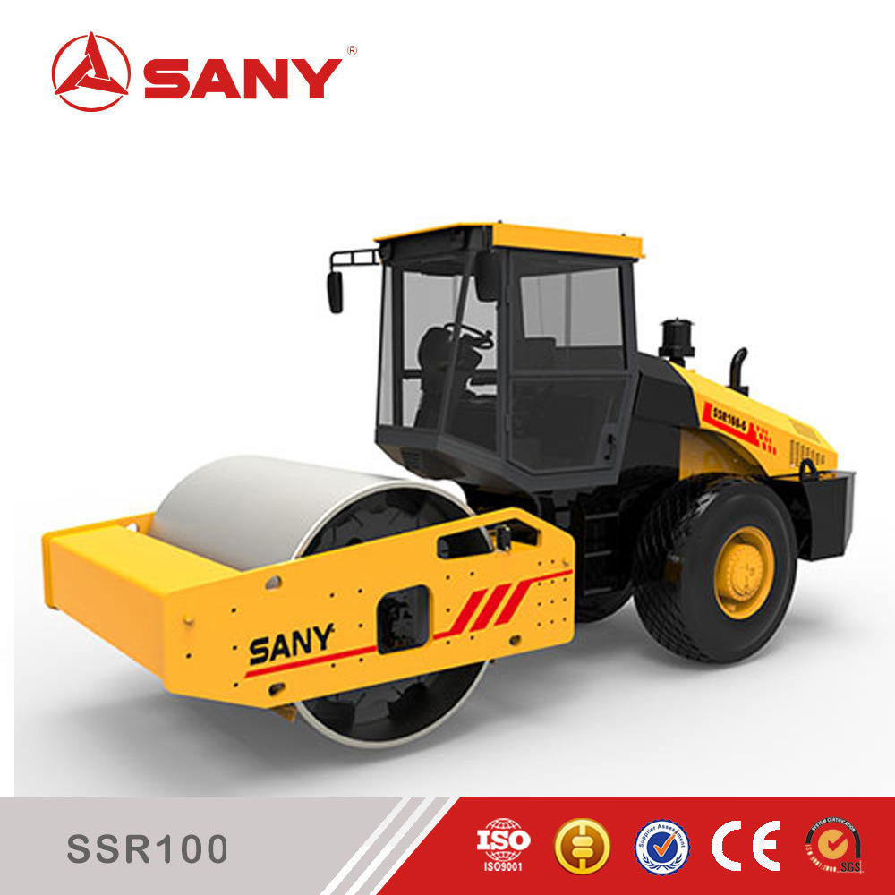 Sany SSR100c-6 10ton Single Drum Vibratory Road Roller