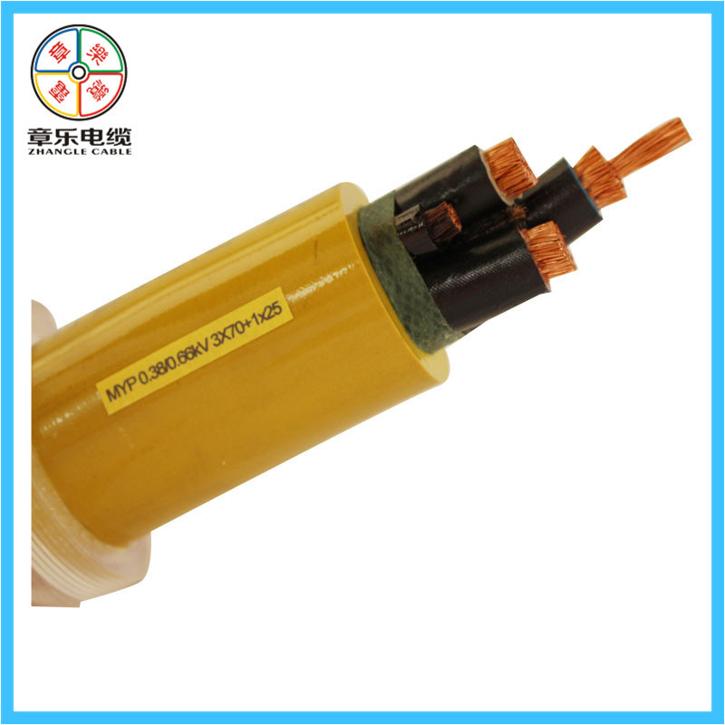 Flexible Rubber Cable for Mine