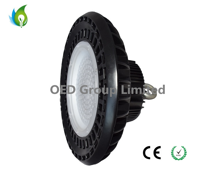 Warehouse and Gymnasium Used IP65 200W 150W 100W UL Ce RoHS List UFO LED High Bay Lights